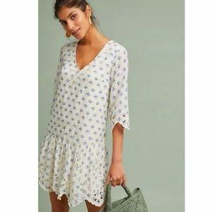 Anthropologie Dresses - Anthropolgie, Meadow Rue, eyelet, tunic dress.